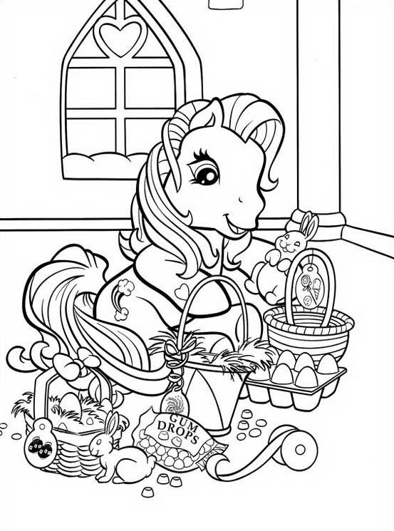 Little pony da colorare 128