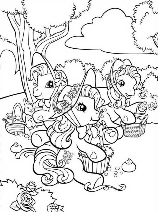 Little pony da colorare 130