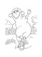 Le avventure di Piggley Winks da colorare 47
