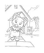 Le avventure di Piggley Winks da colorare 48