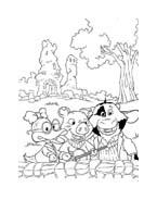Le avventure di Piggley Winks da colorare 49