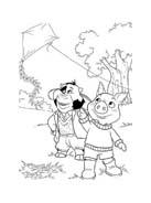 Le avventure di Piggley Winks da colorare 50