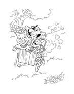 Le avventure di Piggley Winks da colorare 51