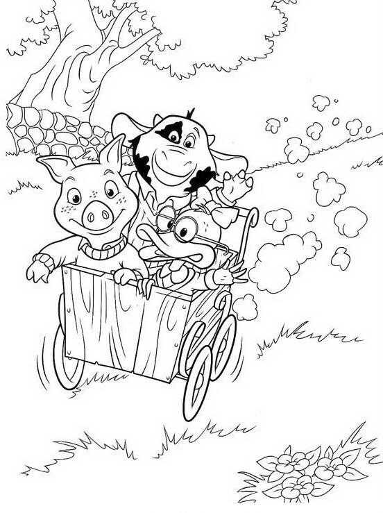Piggly wiggly da colorare 51