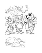 Le avventure di Piggley Winks da colorare 52