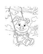 Le avventure di Piggley Winks da colorare 53