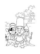 Le avventure di Piggley Winks da colorare 54
