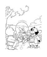 Le avventure di Piggley Winks da colorare 55
