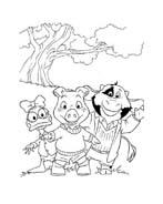 Le avventure di Piggley Winks da colorare 56