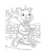 Le avventure di Piggley Winks da colorare 57