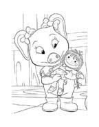 Le avventure di Piggley Winks da colorare 59