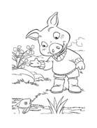 Le avventure di Piggley Winks da colorare 61