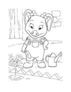 Le avventure di Piggley Winks da colorare 62