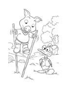 Le avventure di Piggley Winks da colorare 63