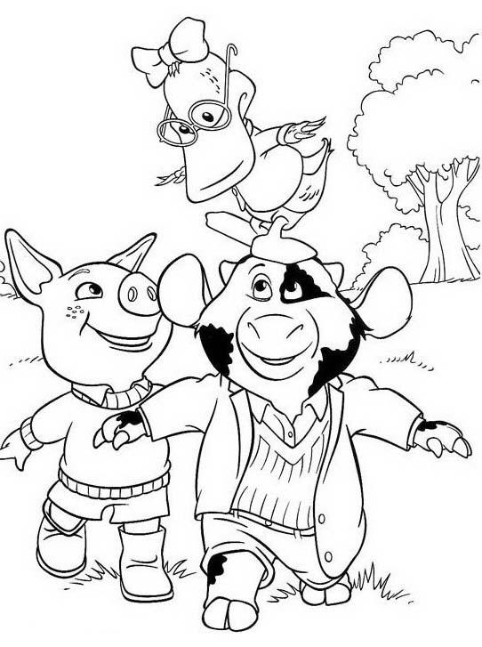 Piggly wiggly da colorare 67
