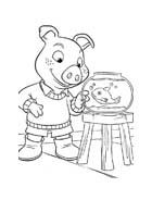 Le avventure di Piggley Winks da colorare 68