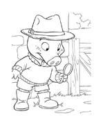Le avventure di Piggley Winks da colorare 69