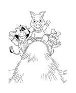 Le avventure di Piggley Winks da colorare 70
