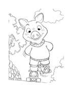 Le avventure di Piggley Winks da colorare 71