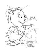 Le avventure di Piggley Winks da colorare 73