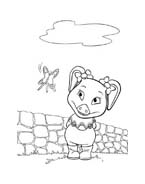 Le avventure di Piggley Winks da colorare 74