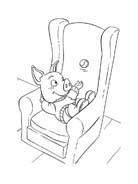 Le avventure di Piggley Winks da colorare 75