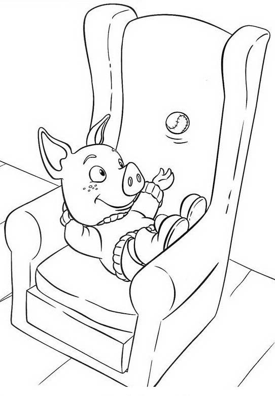Piggly wiggly da colorare 75