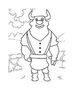 Le avventure di Piggley Winks da colorare 77
