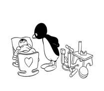 Pingu da colorare 7