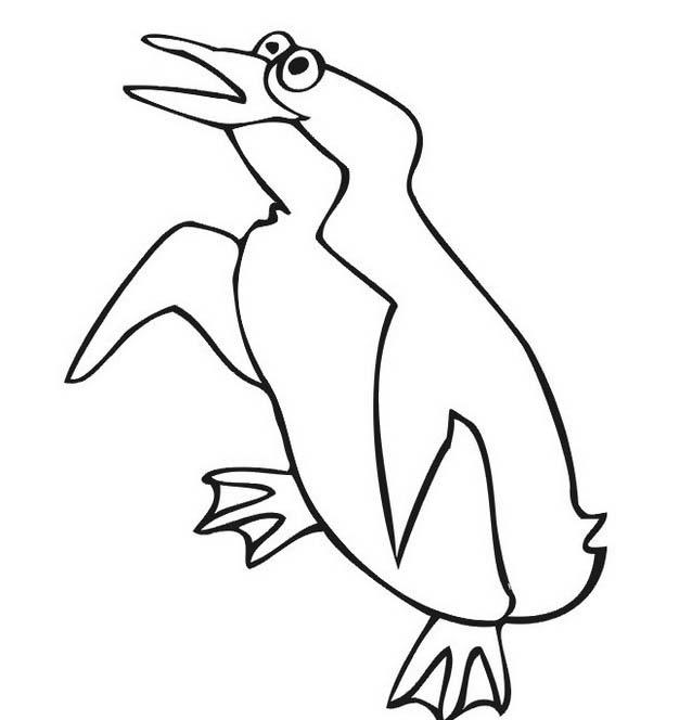 Pinguino da colorare 47