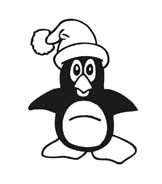Pinguino da colorare 57