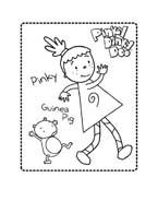 Pinky dinky doo da colorare 6