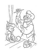 Pinocchio da colorare 4