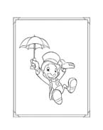 Pinocchio da colorare 9