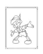 Pinocchio da colorare 11