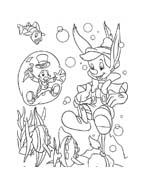 Pinocchio da colorare 19