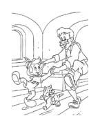 Pinocchio da colorare 20