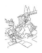 Pinocchio da colorare 21