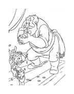 Pinocchio da colorare 22