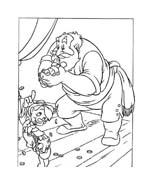 Pinocchio da colorare 24