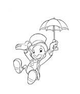 Pinocchio da colorare 29