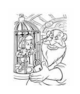 Pinocchio da colorare 35