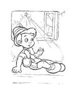 Pinocchio da colorare 38