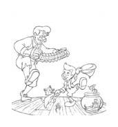 Pinocchio da colorare 40