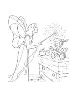 Pinocchio da colorare 42