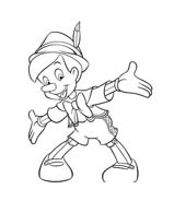Pinocchio da colorare 43