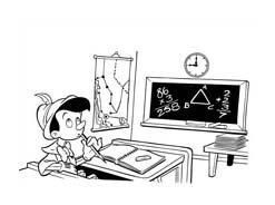 Pinocchio da colorare 44