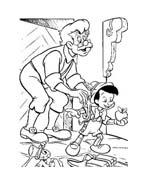 Pinocchio da colorare 45