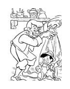 Pinocchio da colorare 46