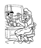 Pinocchio da colorare 55